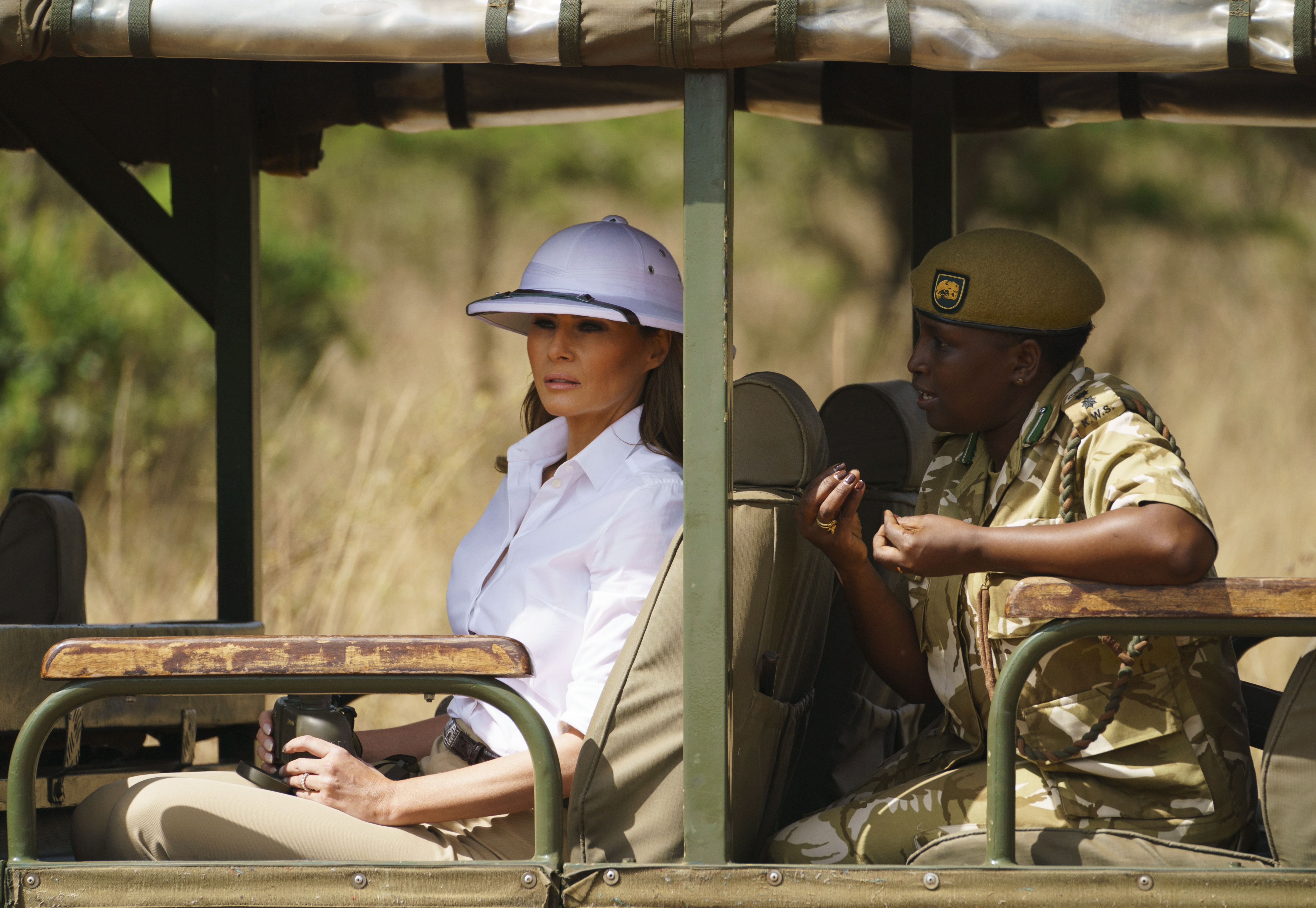 Melania Trump's pith helmet is not just a hat