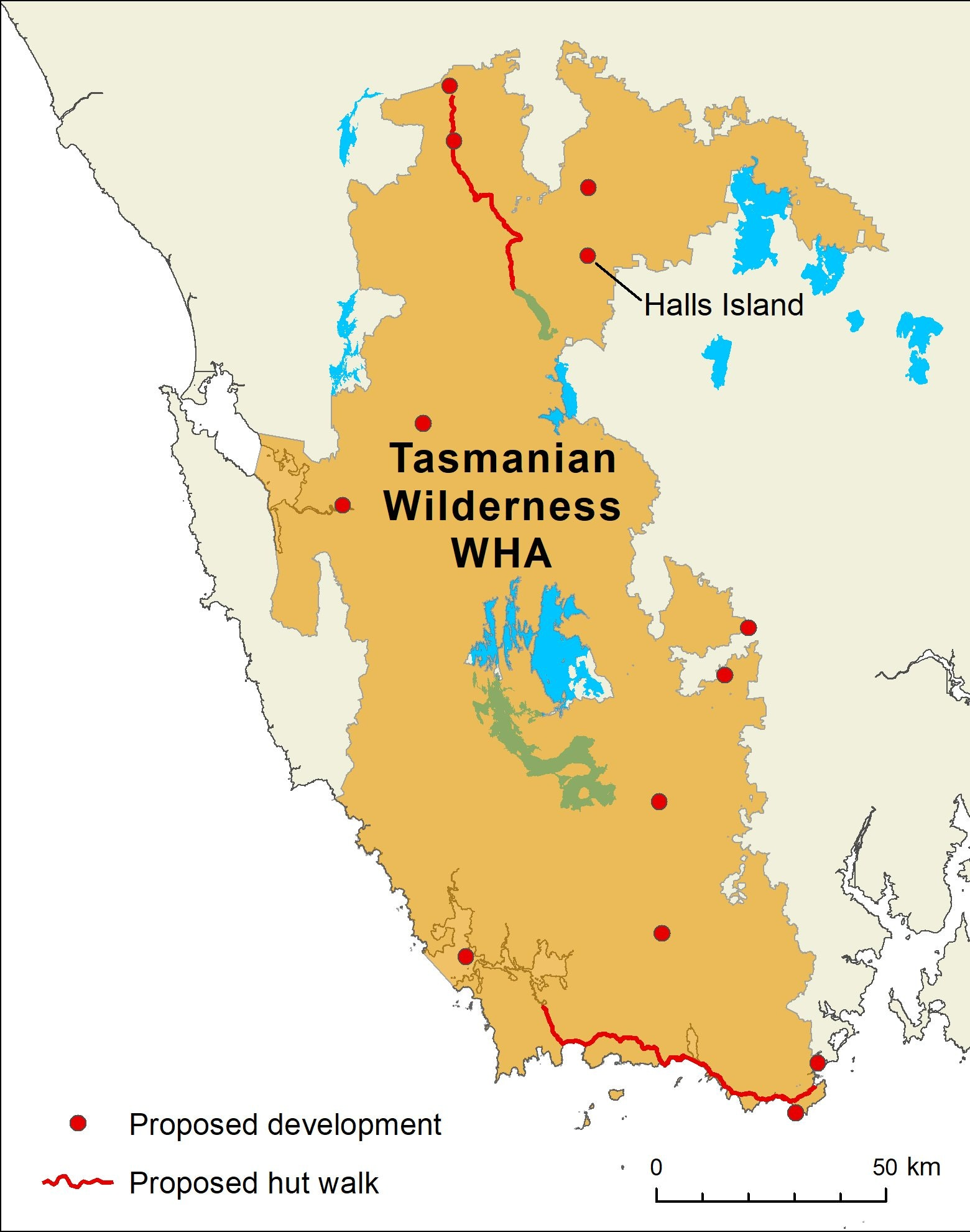 Green Light For Tasmanian Wilderness Tourism Development Defied