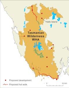 Green light for Tasmanian wilderness tourism development defied expert advice