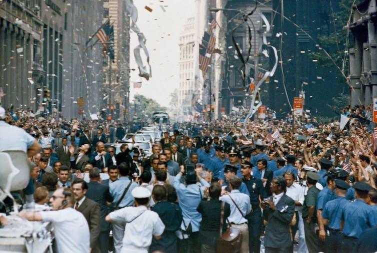 New York City welcomes the Apollo 11 crew