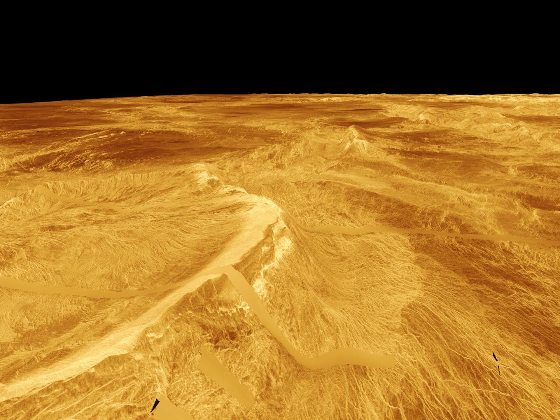 Venus as seen by Magellan