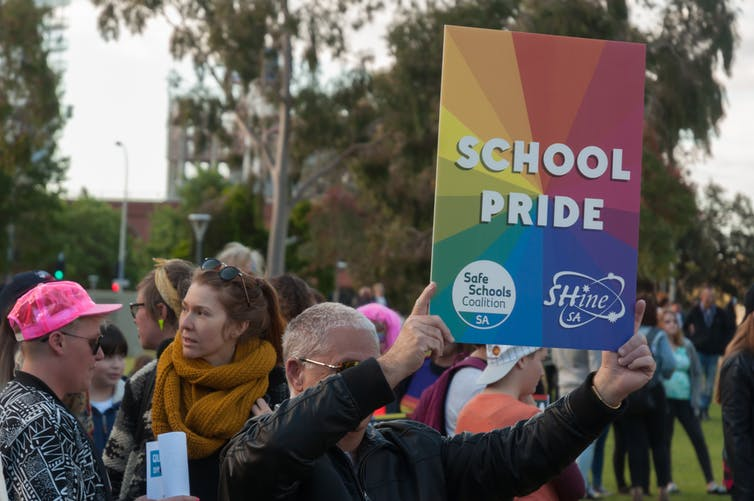 There's no argument or support for allowing schools to discriminate against LGBTIQ teachers