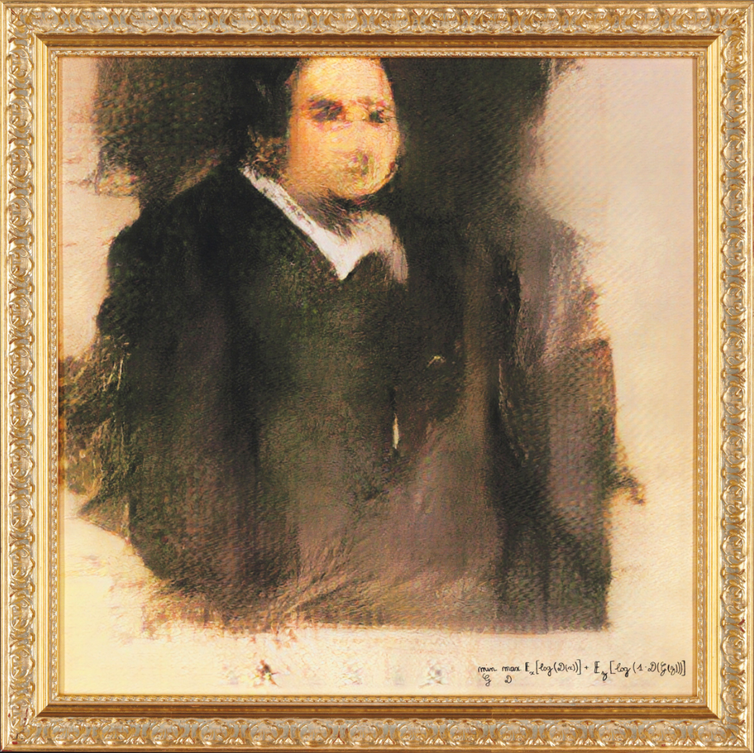 Artwork by an algorithm is up for auction, so does that mean AI is now creative?