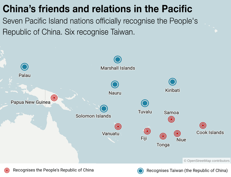 China's economic interest in the Pacific comes with strings attached