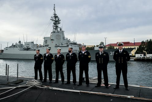 Australia's naval upgrade may not be enough to keep pace in
