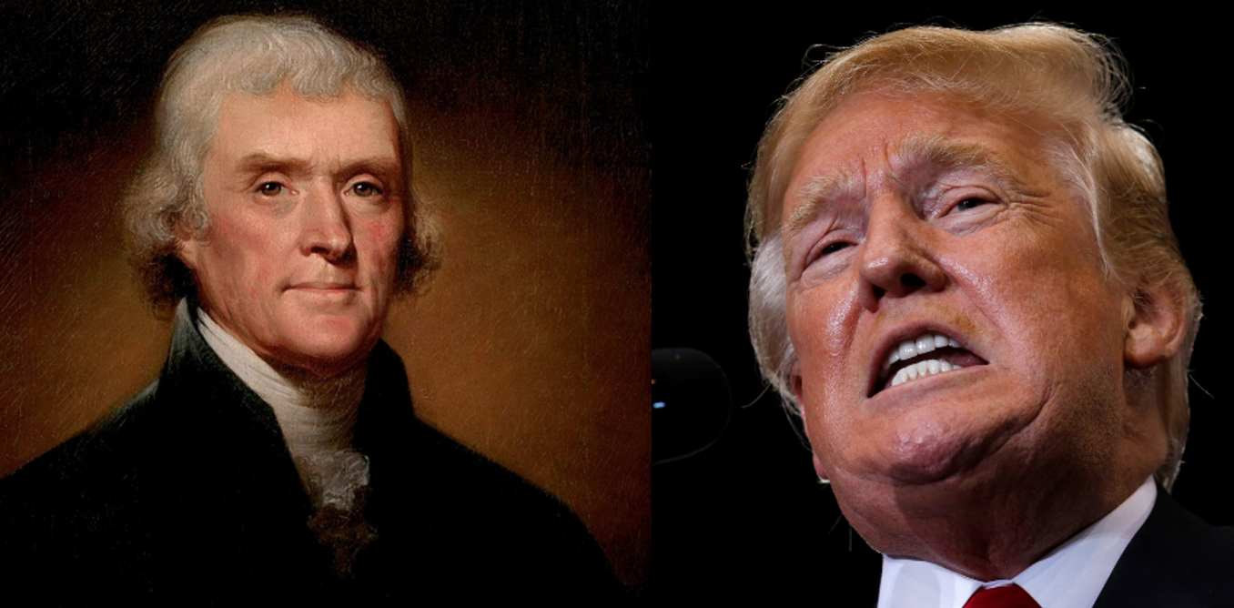 What Thomas Jefferson, Donald Trump and the American people think about freedom of the press