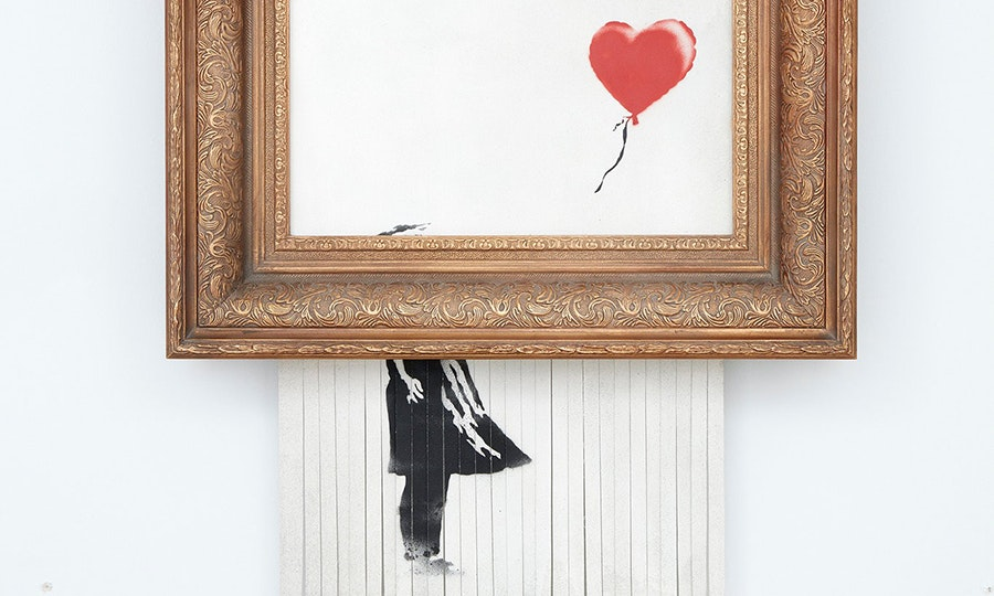 Banksy and the Tradition of Destroying Art