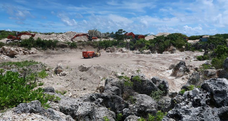 Nauru's life on the frontlines