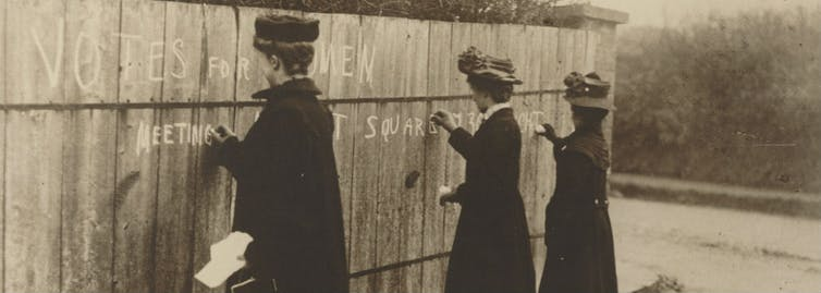 More than a century on, the battle fought by Australia's suffragists is yet to be won