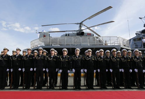 Russia is a rising military power in the Asia-Pacific, and
