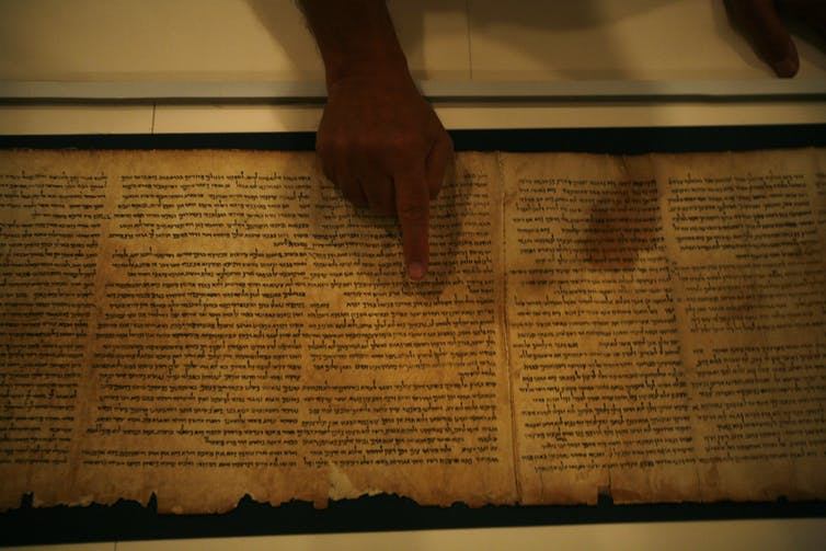 The Dead Sea Scrolls are a priceless link to the Bible's past