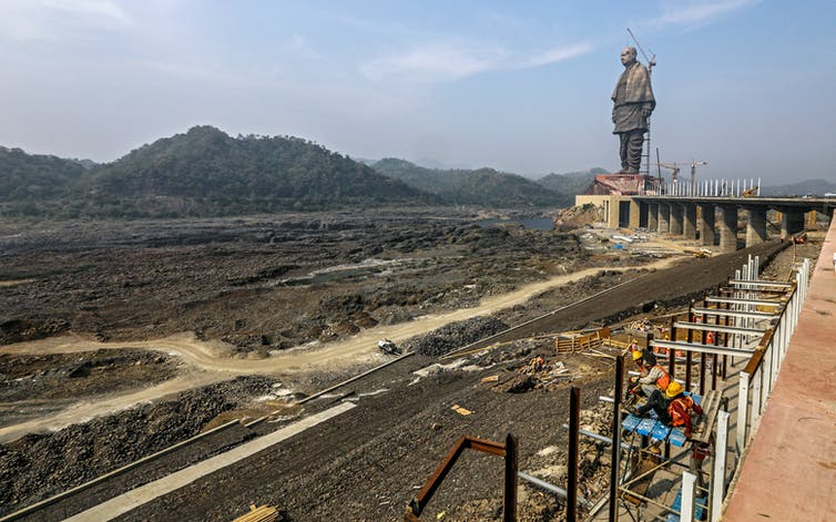 India unveils the world's tallest statue, celebrating development at the cost of the environment