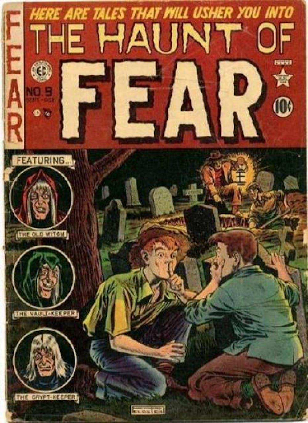 Six of the scariest horror comics