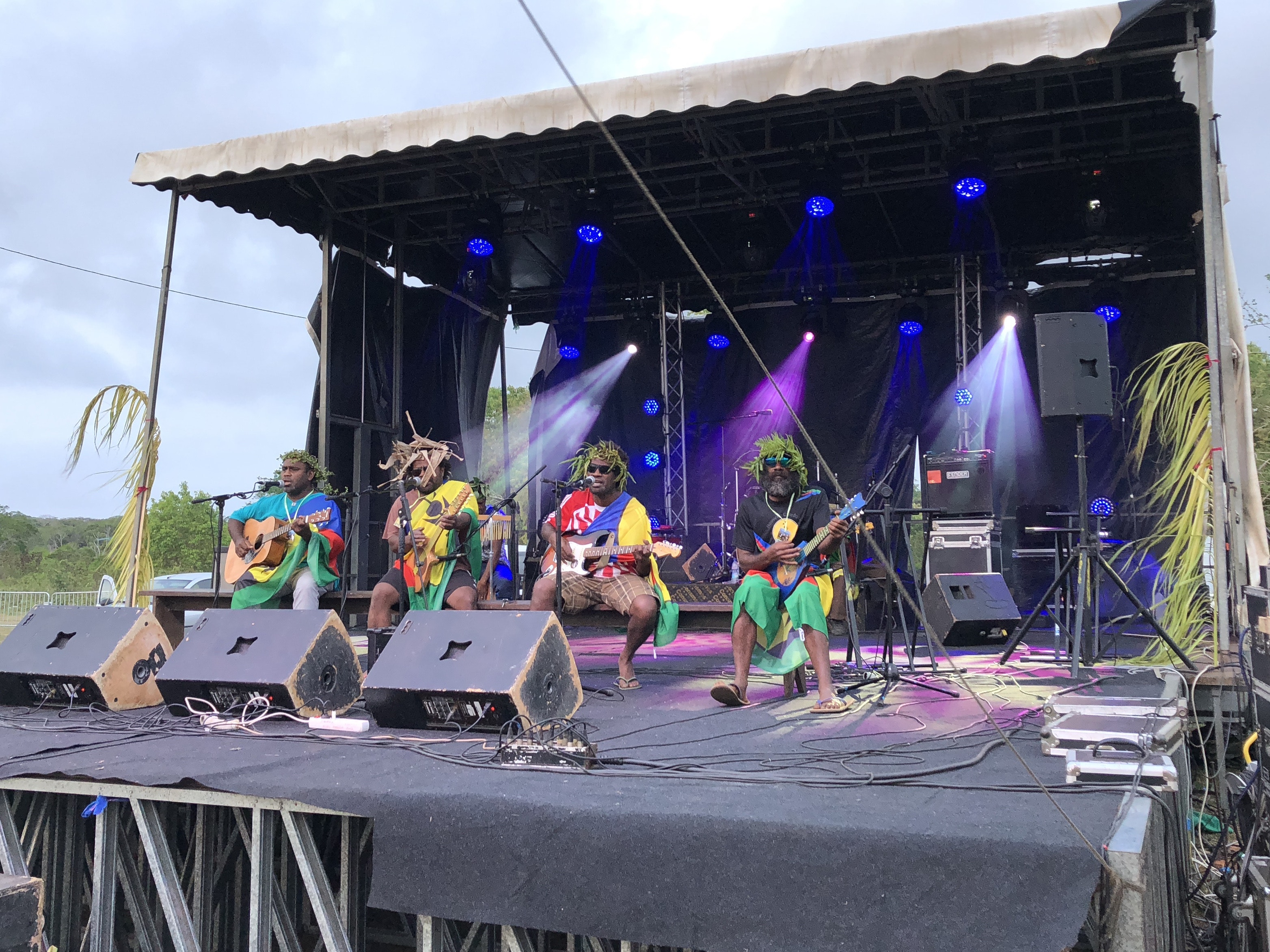 Rebel music: the protest songs of New Caledonia's
