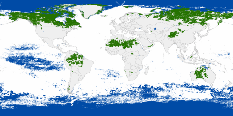 Earth's wilderness is vanishing, and just a handful of nations can save it