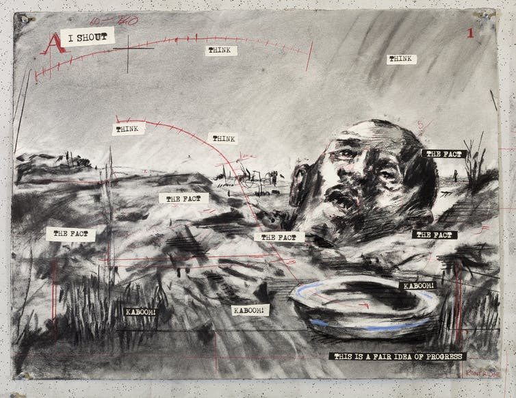 William Kentridge: the barbarity of the 'Great War' told