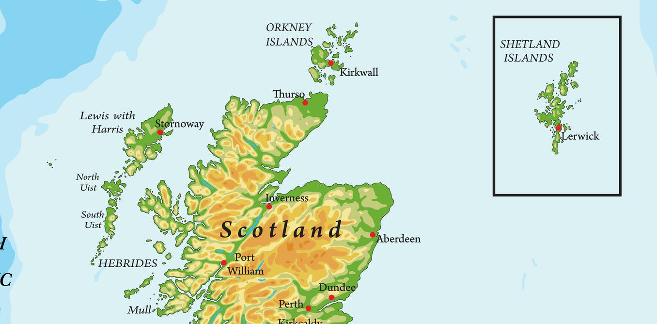 shetland islands scotland map Scotland S Most Remote Islands Don T Want To Be In Inset Maps
