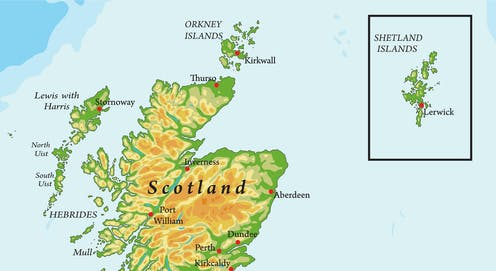 What Is An Inset Map Scotland's most remote islands don't want to be in 'inset maps