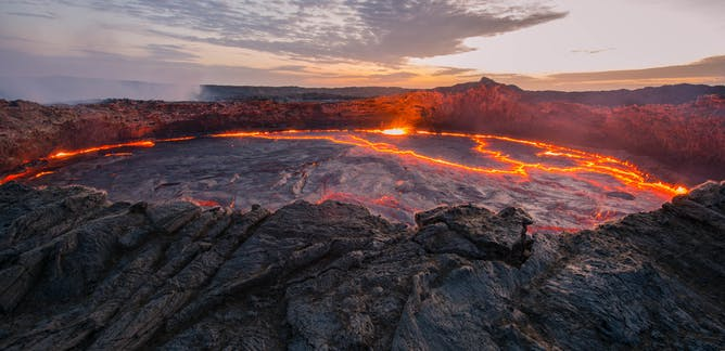 volcanic eruptions news research and analysis the conversation