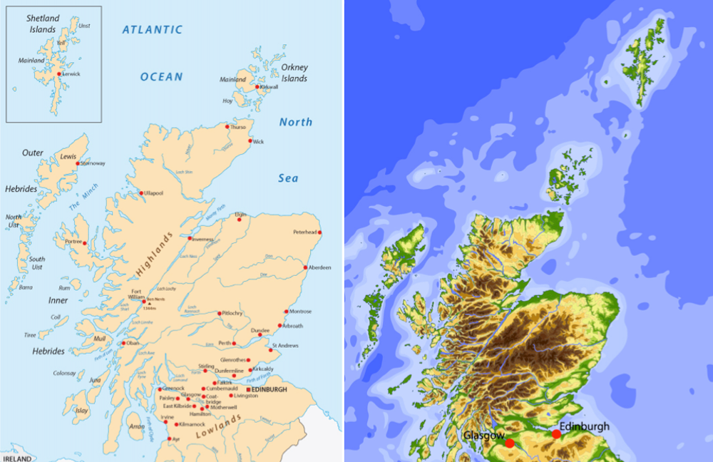 Scotland S Most Remote Islands Don T Want To Be In Inset Maps Any More