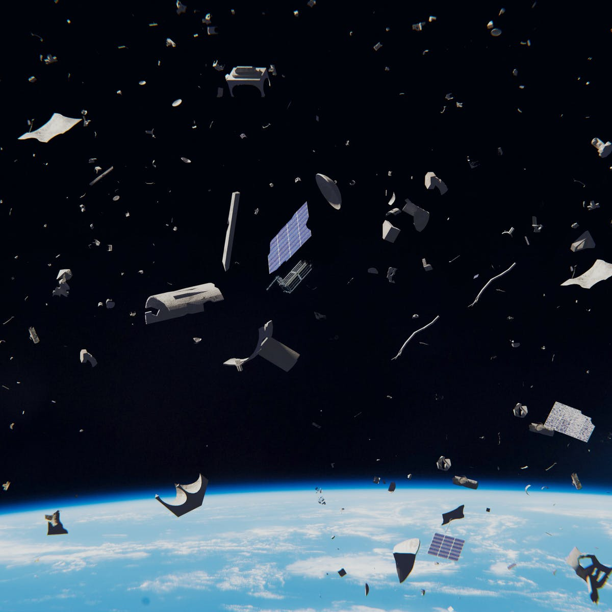 Little Things Matter Exposes Big Threat >> Why Space Debris Cleanup Might Be A National Security Threat