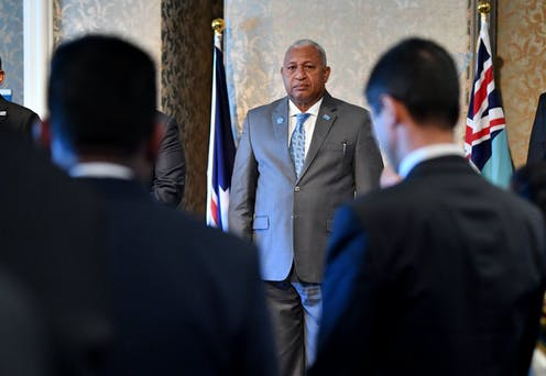 Two past coup leaders face off in Fiji general election as Australia sharpens focus on the western Pacific