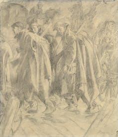 how Australia's war art scheme fed national mythologies of WW1