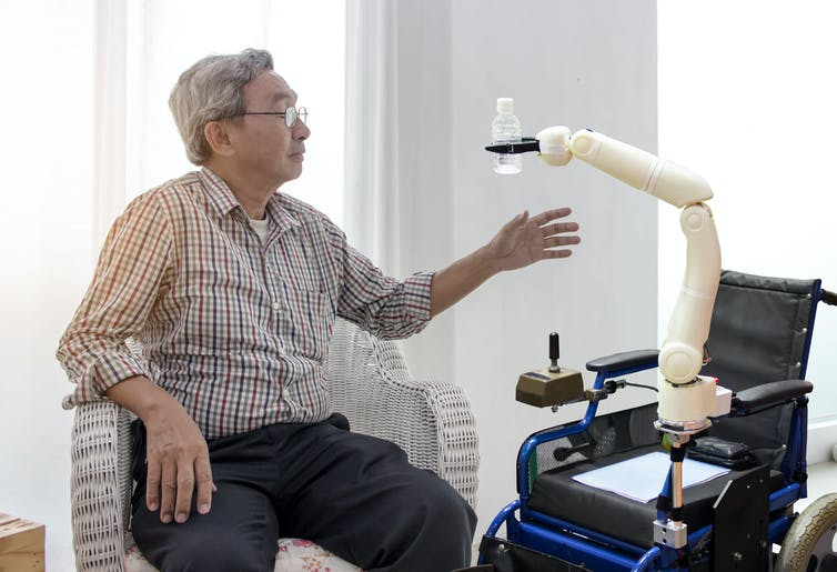Before replacing a carer with a robot, we need to assess the pros and cons