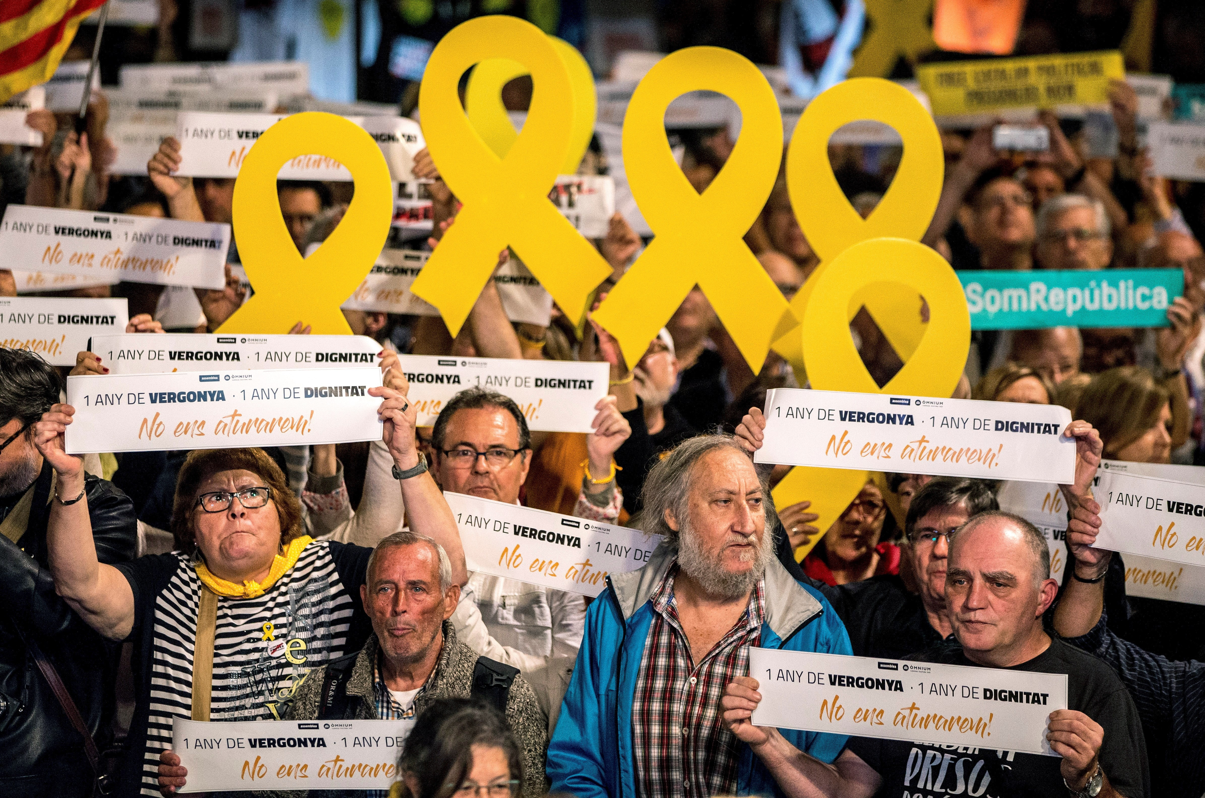 Catalonia: a year on, political prisoners go unnoticed by the rest of the world