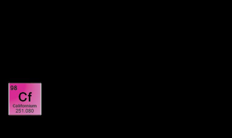 Californio (Cf), Quebecol (molécula presente en el sirope de arce), SEX (siglas en inglés para etil xantato de sodio y que también significa 'sexo')Alexandra Gellé.