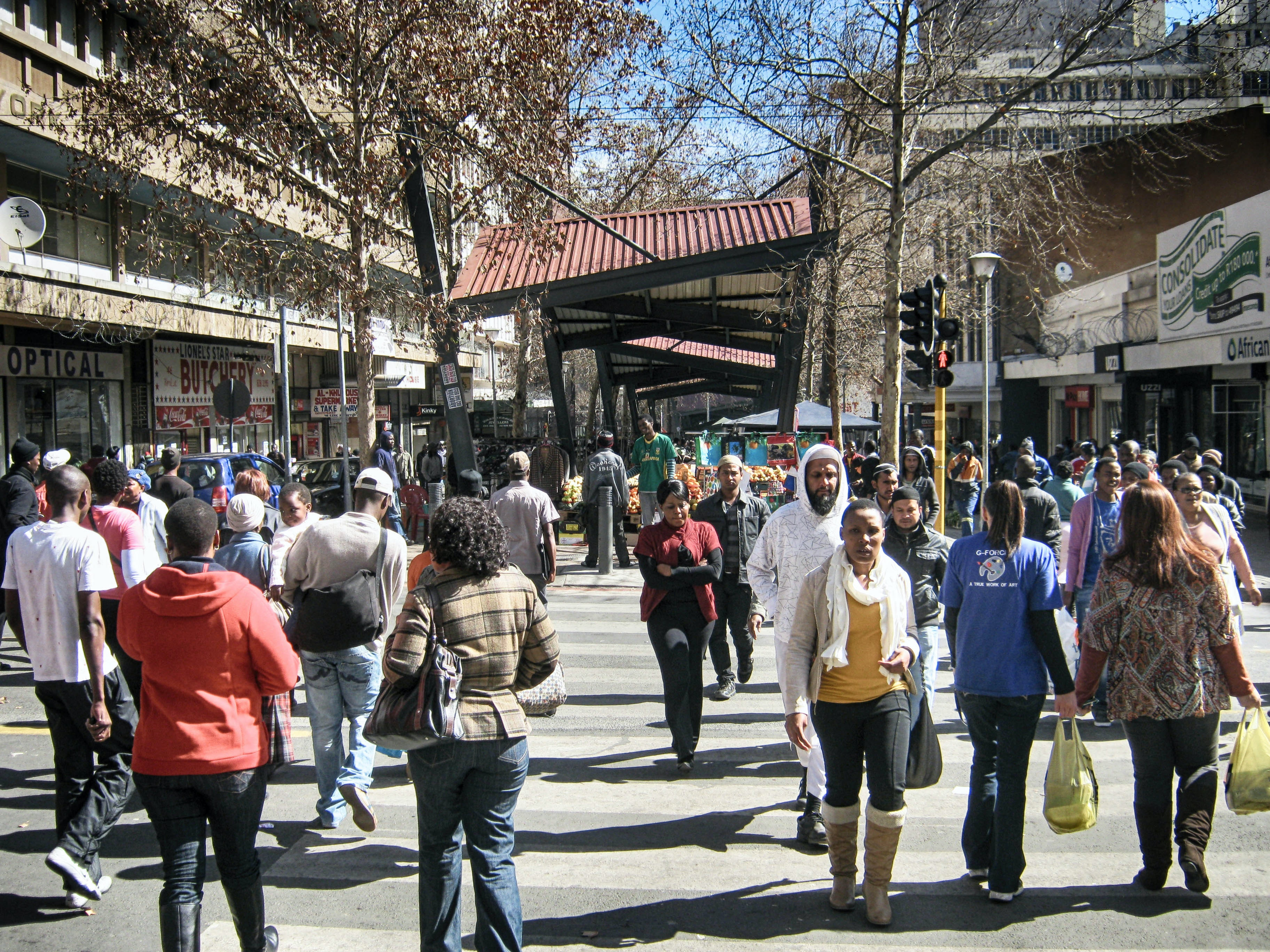 Life in South Africa's economic hub is improving -- but big challenges remain