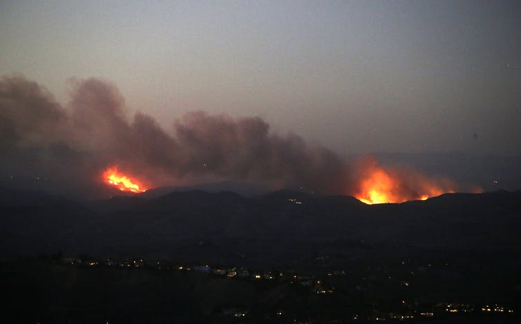 The bitter lesson of the Californian fires