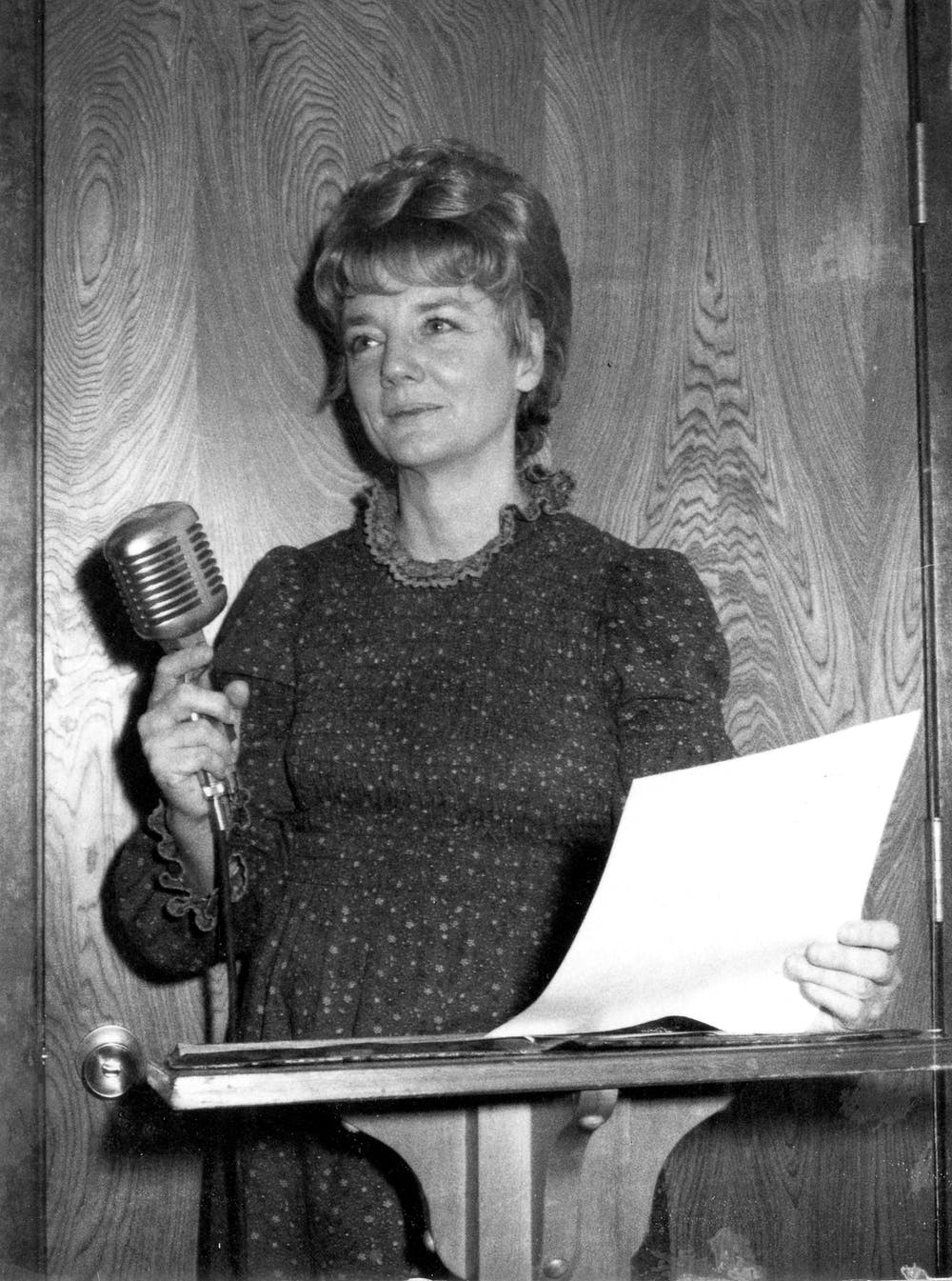 Marceline Jones, the wife of Jim Jones, administered licensed care homes.  Peoples Temple Collection, 1942–2015, (I.D. MS-0183), Special Collections and University Archives, San Diego State University