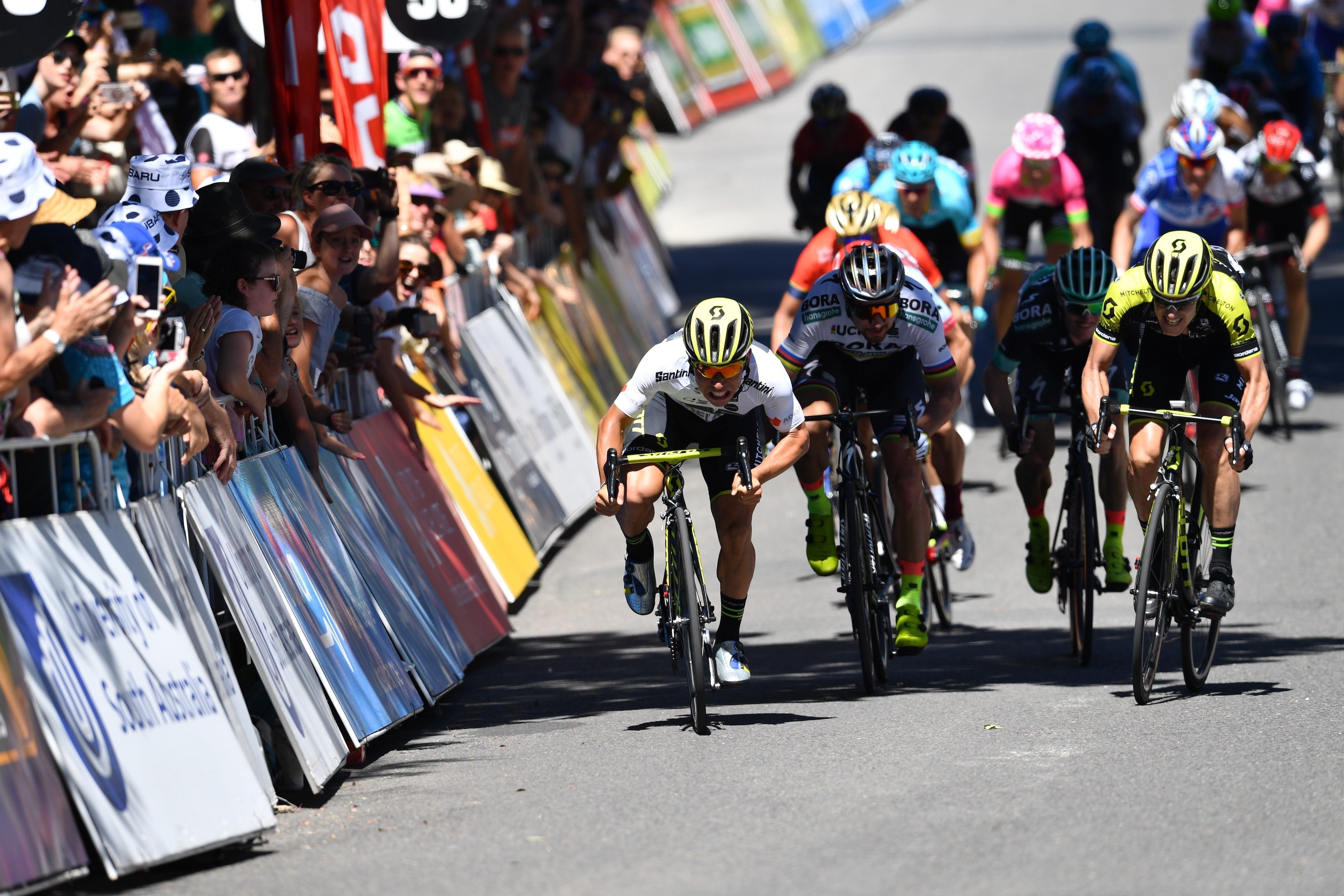 Your Riding Position Can Give You An Advantage In A Road Cycling Sprint
