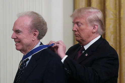 What Trump's picks for the Presidential Medal of Freedom say