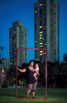 We still live here: public housing tenants fight for their place in