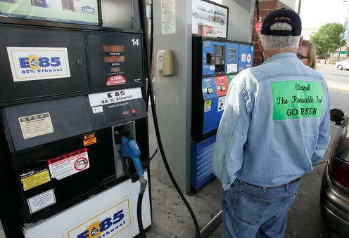 The government aims to boost ethanol without evidence that