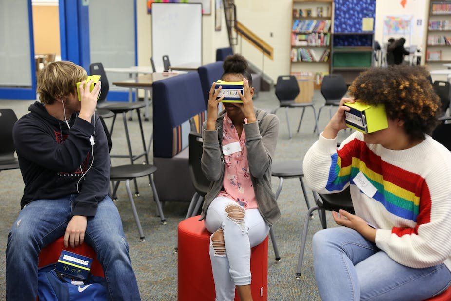 Virtual reality tours give rural students a glimpse of