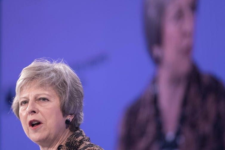 Theresa May's dog-whistle rhetoric on EU citizens jumping