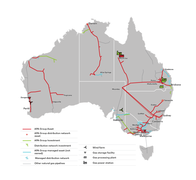 Blocking Chinese gas takeover won't damage Australia's foreign investment pipeline