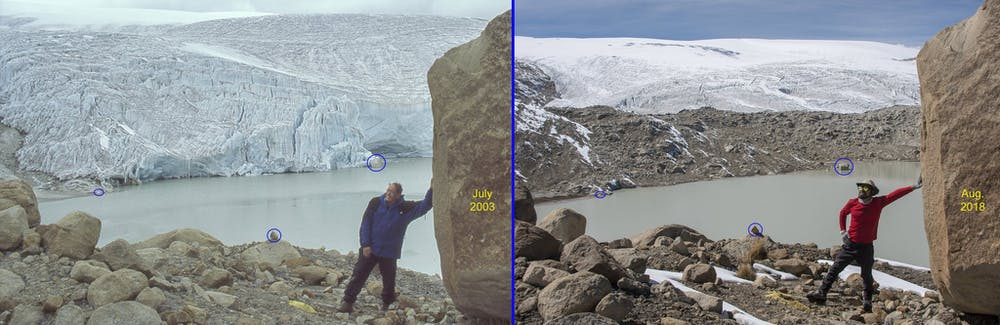 We've been studying a glacier in Peru for 14 years – and it may