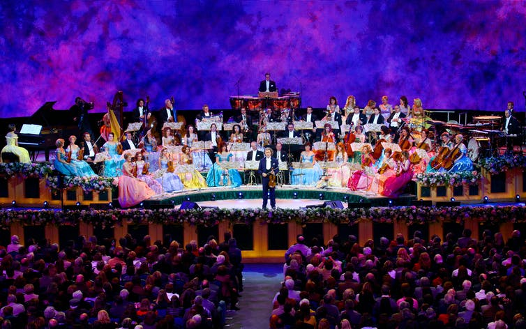 André Rieu gives his audience exactly what they want: entertainment