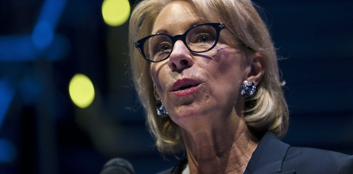 Betsy DeVos has little to show after 2 years in office