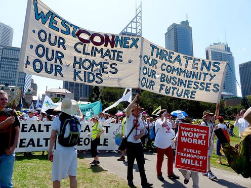 Health impacts and murky decision-making feed public distrust of projects like WestConnex