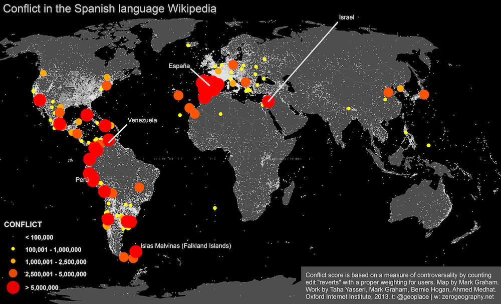 Wikipedia Wars Tie Tongues Across The Globe