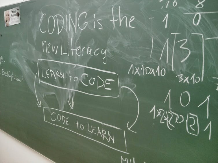learn to code is the new literacy