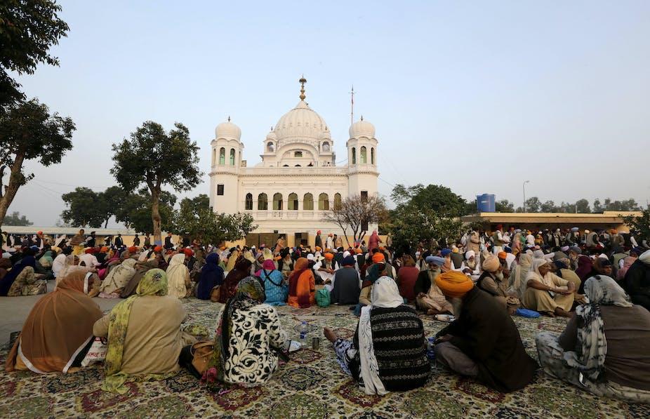 Image result for kartarpur sahib