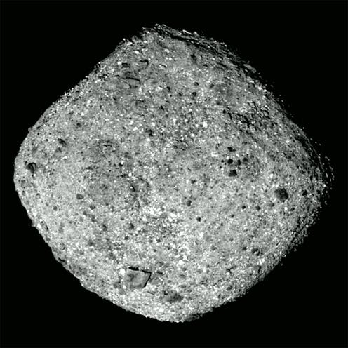NASA spacecraft gets up close with an asteroid that could