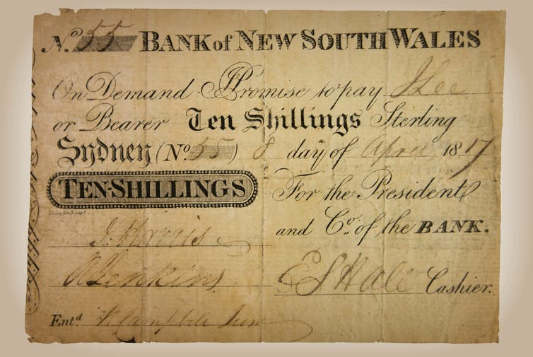 Who made Australia's first ever bank deposit? Here's our unsettling discovery