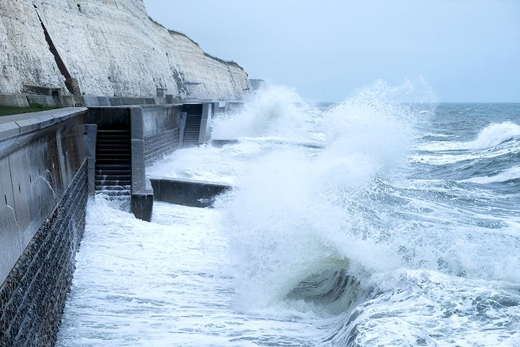 climate resilience requires constructing seawalls
